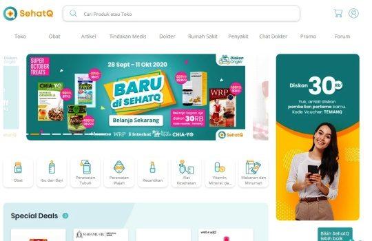 Fitur Promo SehatQ.com Sehat Tidak Harus dengan Harga yang Mahal